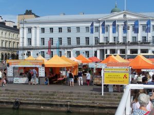 Hafenmarkt in Helsinki