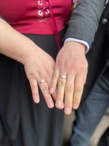 Hochzeitstag bleibt Hochzeitstag