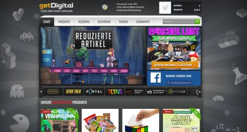 getDigital Online-Shop