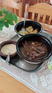 Finnisches Abendessen