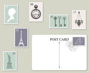 Rätsellösungen auf Postenkarten