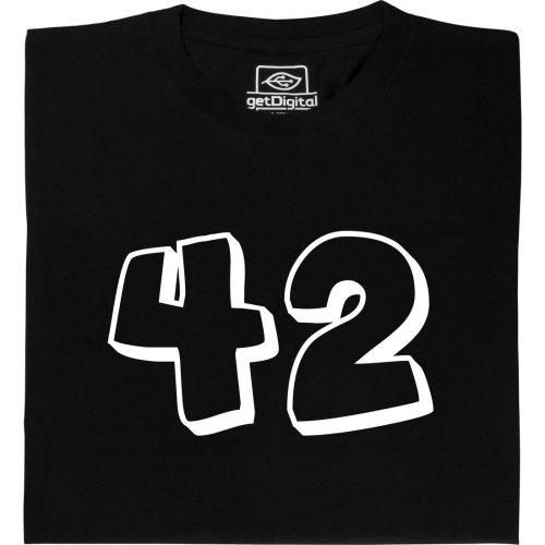 42 Die Antwort auf alle fragen T-Shirt kaufen
