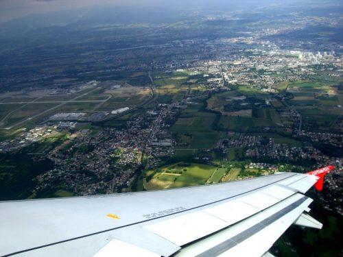 Abflug Basel