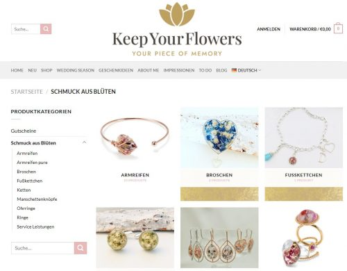 Keep your Flowers Brautstrauß-Schmuck