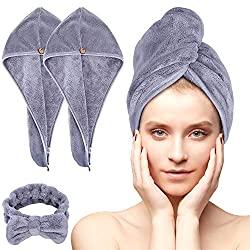 Schnelltrocknendes Haarhandtuch