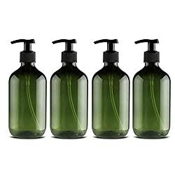 Kunststofflaschen für selbstgemachte Haarkur