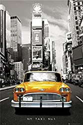 Yellow Cab Poster New York City