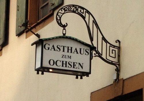 Gasthaus zum Ochsen Zähringen Freiburg