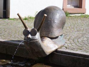 Emmendinger Schnecken-Brunnen im Westend